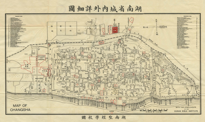 Hunan Province China Map.Map Of Changsha The Capital Of Hunan Province China Mission